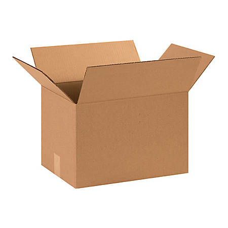 15in(L) x 11in(W) x 11in(D) - Corrugated Shipping Boxes