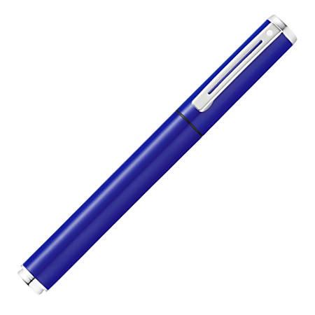 Sheaffer® POP Collection Fountain Pen, Medium Point, 0.76 mm, Blue Barrel, Black Ink