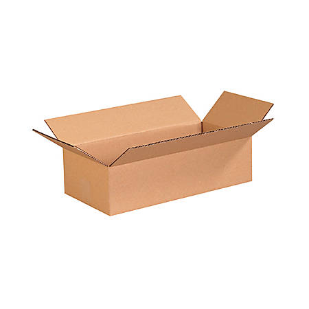 """Office Depot® Brand Corrugated Boxes 16"""" x 8"""" x 4"""", Bundle of 25"""