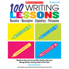 Scholastic 100 Writing Lessons Narrative Descriptive
