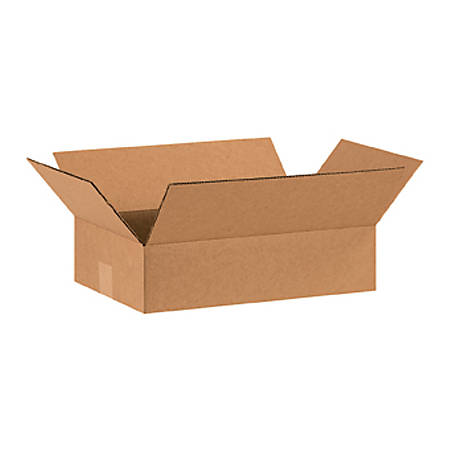 16in(L) x 10in(W) x 4in(D) - Corrugated Shipping Boxes