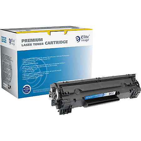 Elite Image Remanufactured MICR Toner Cartridge - Alternative for HP 83X (CF283X) - Black - Laser - High Yield - 22000 Pages - 1 Each