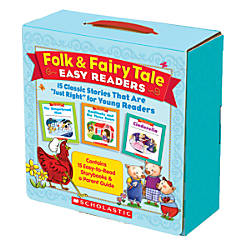 Scholastic Folk Fairy Tale Easy Readers