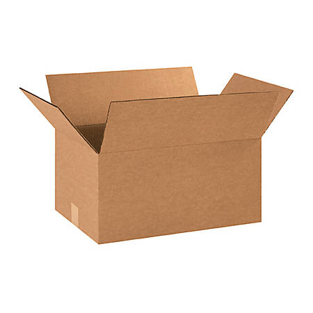"""Office Depot® Brand Corrugated Boxes 16"""" x 12"""" x 9"""", Bundle of 25"""