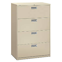 Inspirational Hon 4 Drawer Lateral File Cabinet