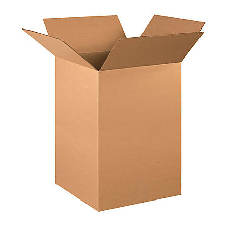 16in(L) x 16in(W) x 26in(D) - Corrugated Shipping Boxes