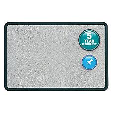 Quartet Contour Granite Colored Cork Board