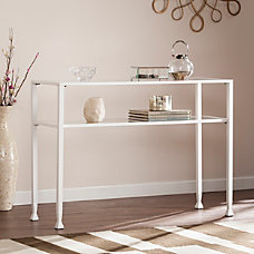 Southern Enterprises Jaymes MetalGlass Console Table