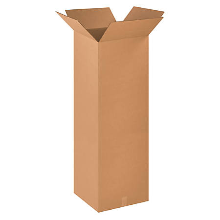 "Office Depot® Brand Corrugated Boxes 16"" x 16"" x 48"", Bundle of 10"