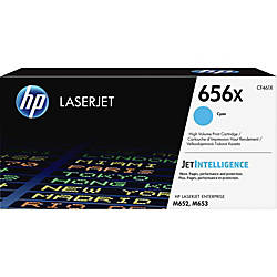 HP 656X Original Toner Cartridge Cyan