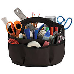 Find It Supply Caddy Black