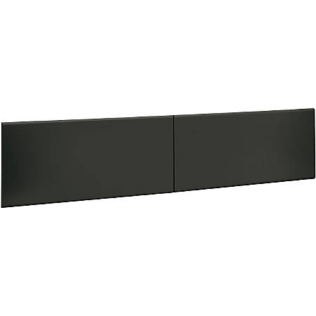"HON®38000 Series Flipper Door for 72"" Hutch, Charcoal"