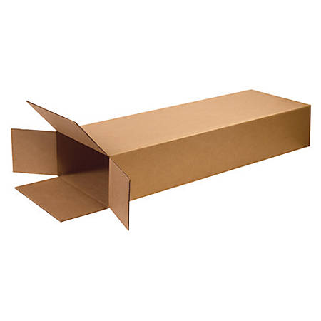 "Office Depot® Brand Side Loading Boxes 18"" x 6"" x 45"", Bundle of 5"