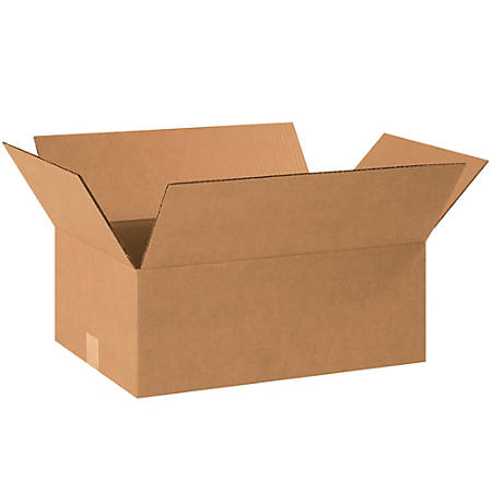 18in(L) x 12in(W) x 7in(D) - Corrugated Shipping Boxes