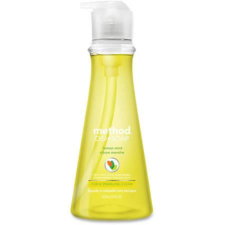 Method™ Dish Soap, Lemon Mint, 18 Oz.