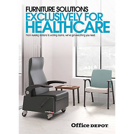 2017 Office Depot Healthcare Furniture Insert
