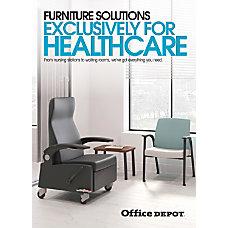 2017 Office Depot Healthcare Furniture Insert