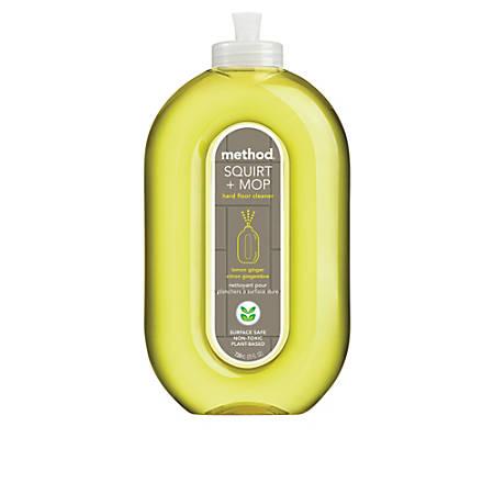 Method Squirt And Mop All Floor Cleaner, Lemon Ginger, 25 Oz