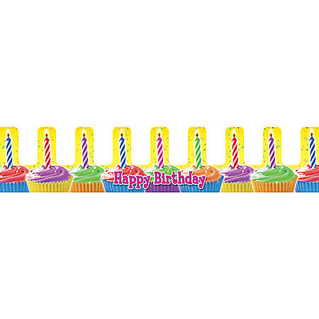 Scholastic Crowns — Birthday Cupcakes, Pack Of 36