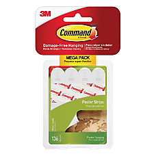 Command Poster Strips Pack Of 136