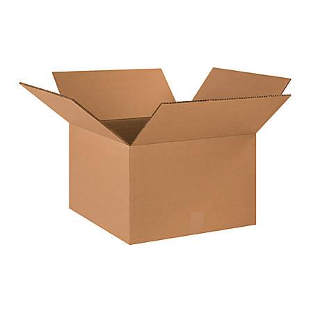 18in(L) x 18in(W) x 12in(D) - Corrugated Heavy-Duty Doublewall Shipping Boxes