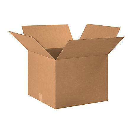 """Office Depot® Brand Corrugated Boxes 18"""" x 18"""" x 15"""", Bundle of 20"""