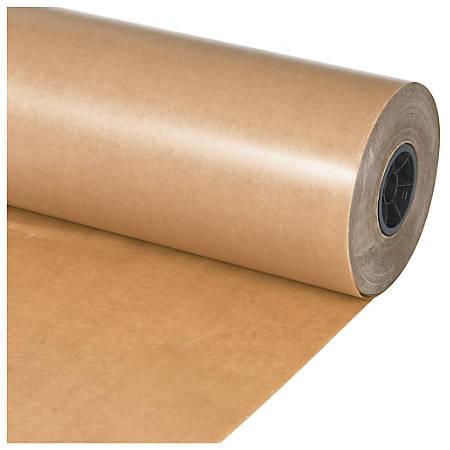"Office Depot® Brand Waxed Paper Roll, 12"" x 1,500', Kraft"