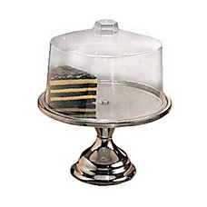 American Metalcraft Stainless Steel Cake Stand