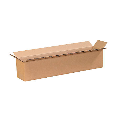 20in(L) x 4in(W) x 4in(D) - Corrugated Shipping Boxes
