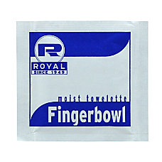 Royal Paper Products Moist Towelettes Lemon