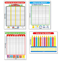 Scholastic Graph Chart Sets Pack Of