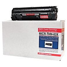 MicroMICR THN 83X HP CF283X High