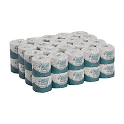 Angel Soft® Professional Series® by GP PRO Premium 2-Ply Embossed Toilet Paper, 450 Sheets Per Roll, Case Of 40 Rolls