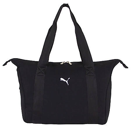 PUMA Clubhouse Duffel Bag, Black