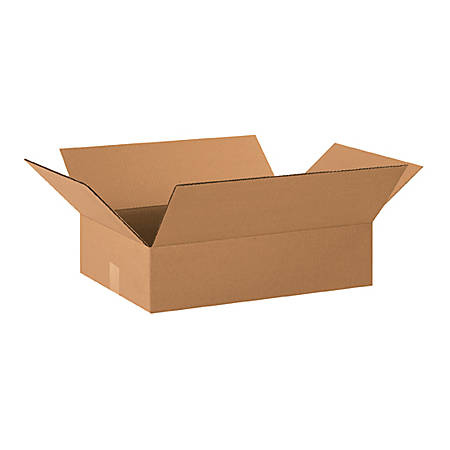 20in(L) x 14in(W) x 4in(D) - Corrugated Shipping Boxes