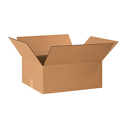 """Office Depot® Brand Corrugated Boxes 20"""" x 15"""" x 9"""", Bundle of 25"""