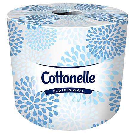 Kleenex® COTTONELLE 2-Ply Bathroom Tissue, 451 Sheets Per Roll, Case Of 60 Rolls
