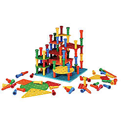 Playmonster Tall Stacker Building Set Grades