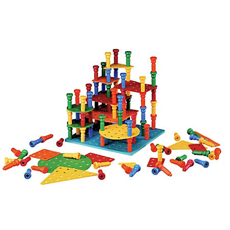 Playmonster Tall-Stacker™ Building Set, Grades Pre-K - Grade 3