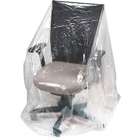 """Office Depot® Brand Plastic Furniture Covers, 1-Mil, 28"""" x 17"""" x 58"""", 275 Per Roll"""