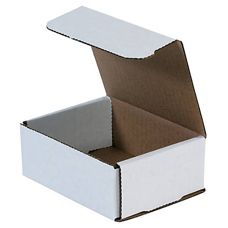 """Office Depot® Brand 8"""" Corrugated Mailers, 2""""H x 7""""W x 8""""D, White, Pack Of 50"""