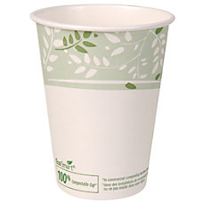 Dixie PLA Paper Hot Cup 12