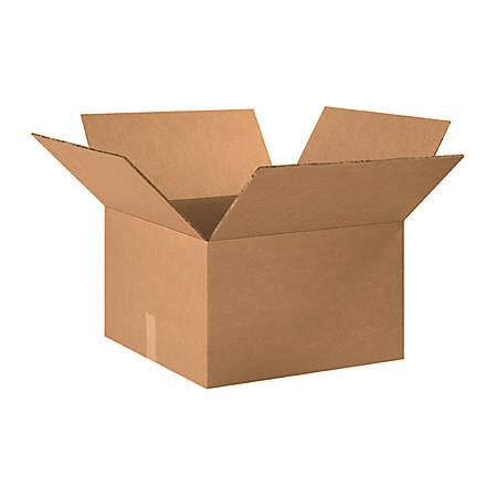 20in(L) x 20in(W) x 12in(D) - Corrugated Heavy-Duty Doublewall Shipping Boxes