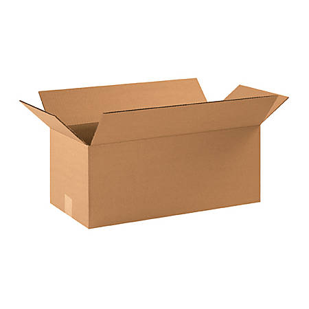 22in(L) x 10in(W) x 9in(D) - Corrugated Shipping Boxes