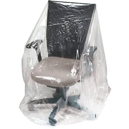 """Office Depot® Brand Plastic Furniture Covers, 1-Mil, 28"""" x 17"""" x 124"""", 130 Per Roll"""
