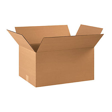 """Office Depot® Brand Corrugated Boxes 22"""" x 14"""" x 10"""", Bundle of 20"""