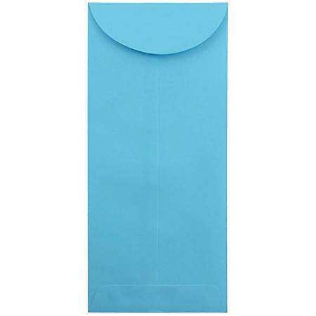 """JAM Paper® Open-End Policy Envelopes, #14, 5"""" x 11 1/2"""", 30% Recycled, Blue, Pack Of 25"""
