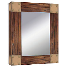 PTM Images Framed Mirror Accent Corner