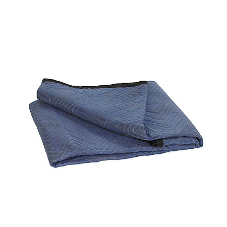 """BOX Packaging Economy Moving Blanket, 72"""" x 80"""", Bundle of 6"""