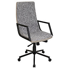 Lumisource Senator Office Chair TanBlack